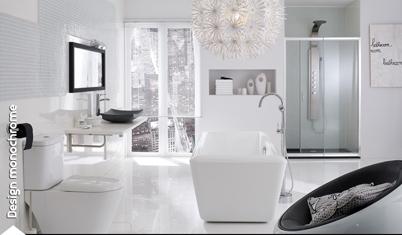 Esprit design blanc monochrome