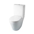 Pack WC à poser en porcelaine blanche