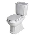 Pack WC en porcelaine et style rétro