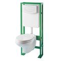 Pack WC suspendu avec cuvette & bâti-support