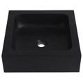 Vasque en pierre naturelle noir