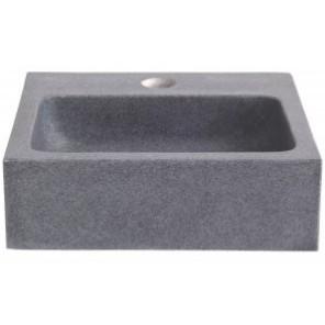 lave mains pierre grise