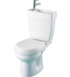 wc lave mains intégré