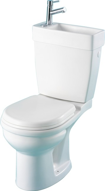ensemble wc et lave-mains, pack wc avec lave main intégré, wc avec lave main planetebain