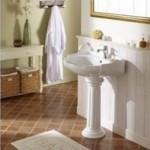 lavabo retro avec colonne