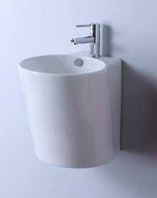 lavabo suspendu rond