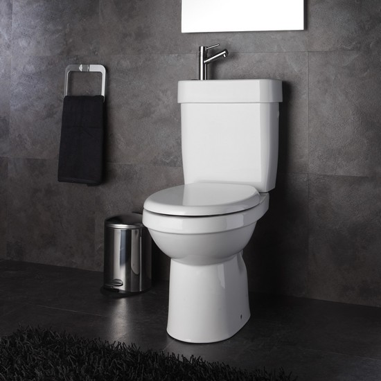 le pack wc avec lave mains int gr sortie verticale. Black Bedroom Furniture Sets. Home Design Ideas