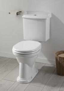 Pack WC Krizantem rétro en céramique