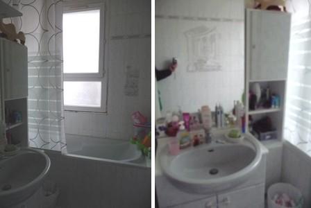 salle de bain à relooker