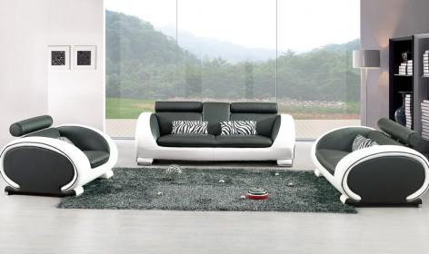 salon-cuir-design-noir-blanc-yoka-1