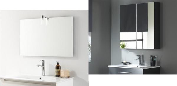 miroir moderne