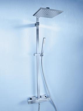 comment monter une colonne de douche