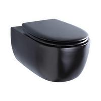 cuvette de toilette noire