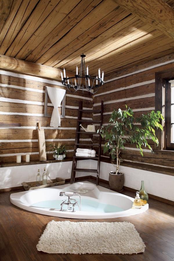 Comment organiser ma salle de bains et ma chambre deux en un for Bois dans salle de bain
