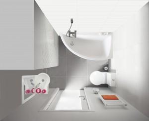 salle de bains petite taille, très petite salle de bain, gamme nano planetebain, gain de place planetebain