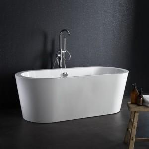 baignoire îlot, baignoire ilot acrylique blanche, baignoire ilot planetebain