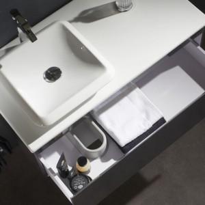 meuble vasque carrée