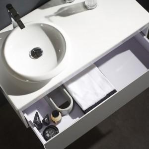 meuble vasque ronde