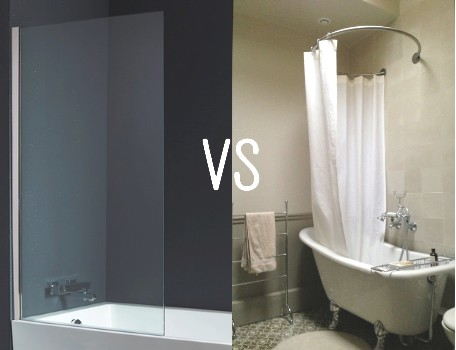 Pare baignoire coulissant pare baignoire pivotant - Rideau pour salle de bain ...