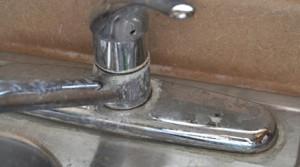 calcaire sur robinet