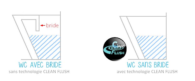 dt clean flush