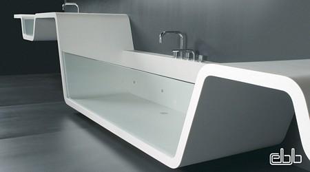 baignoire insolite, baignoire design, blog planetebain, baignoire futuriste
