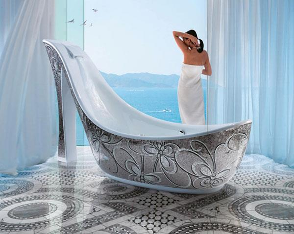 top 10 des baignoires les plus insolites planetebain. Black Bedroom Furniture Sets. Home Design Ideas
