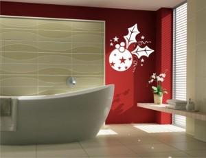 Déco de noel pour salle de bain
