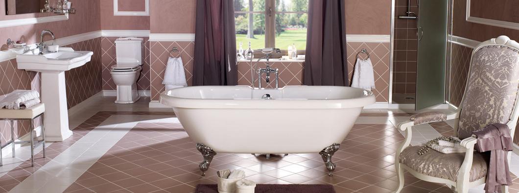 Salle de bain romantique - Salle de bain rétro : inspirations