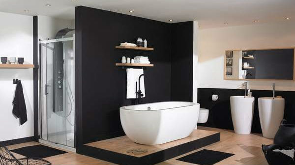 Salle de bain moderne et design inspirations planetebain for Photos decoration salle de bain moderne
