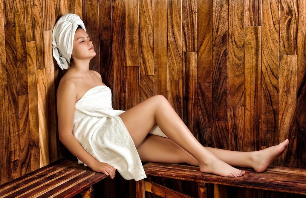 sauna - salle de bain bois