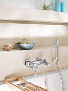 mitigeur de baignoire design