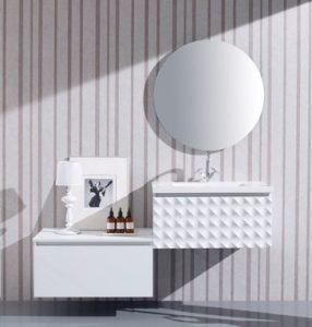 ensemble de meuble de salle de bain design