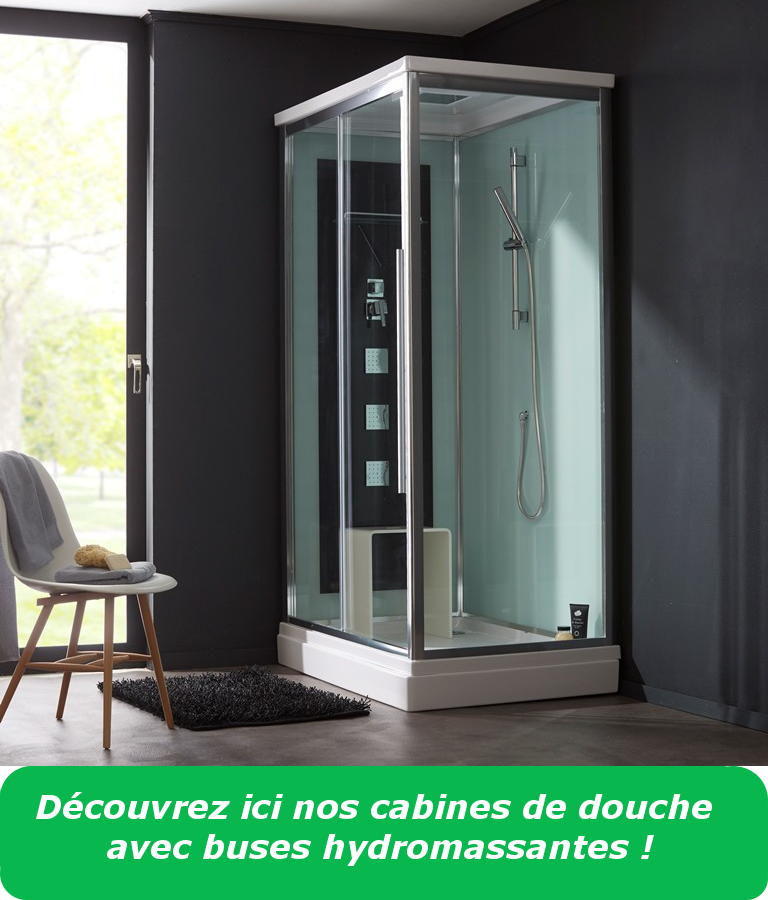 comment choisir sa cabine de douche design et de qualit. Black Bedroom Furniture Sets. Home Design Ideas