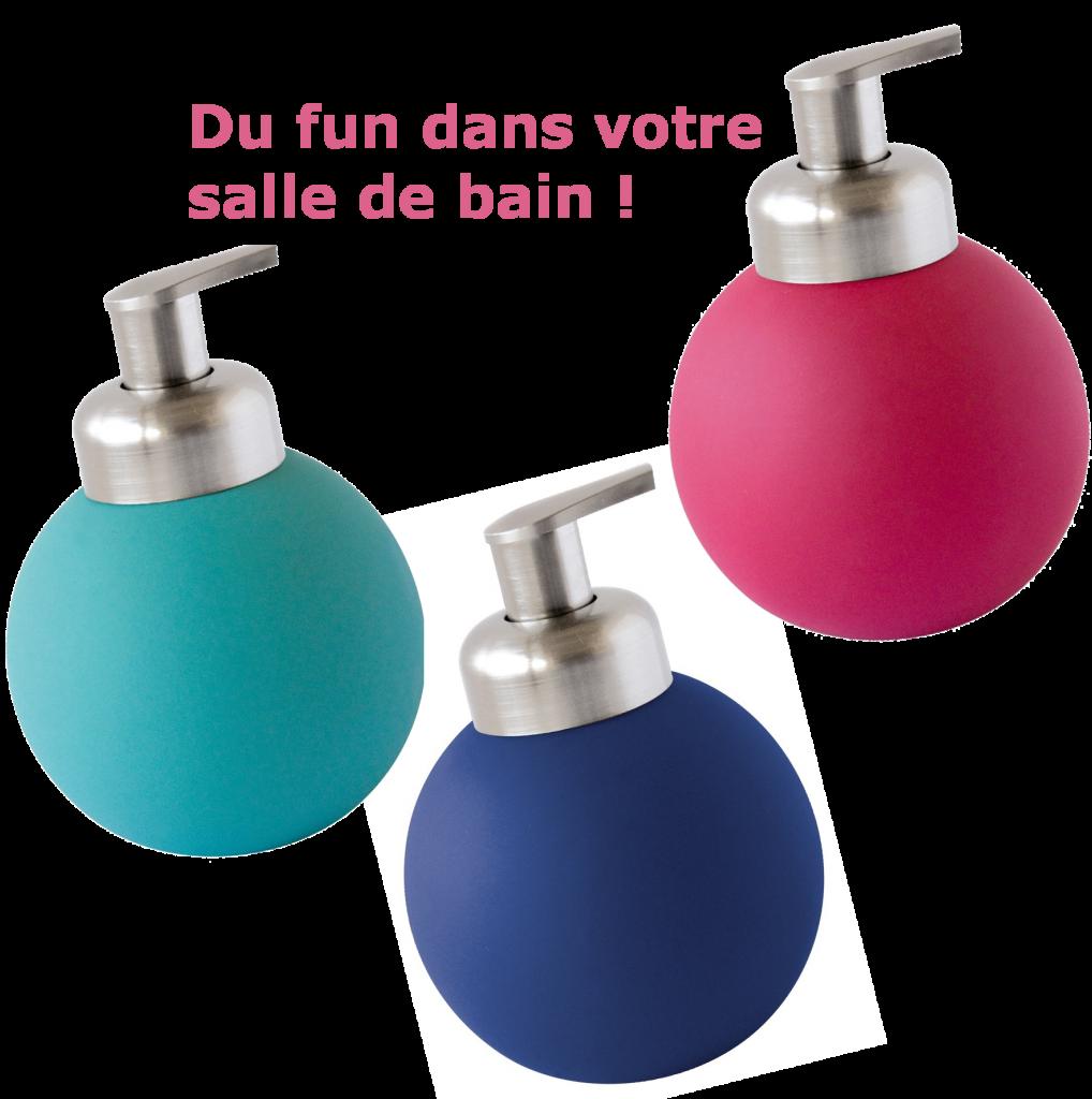 Accessoires pour une salle de bain fun et color e for Accessoires pour salle de bain