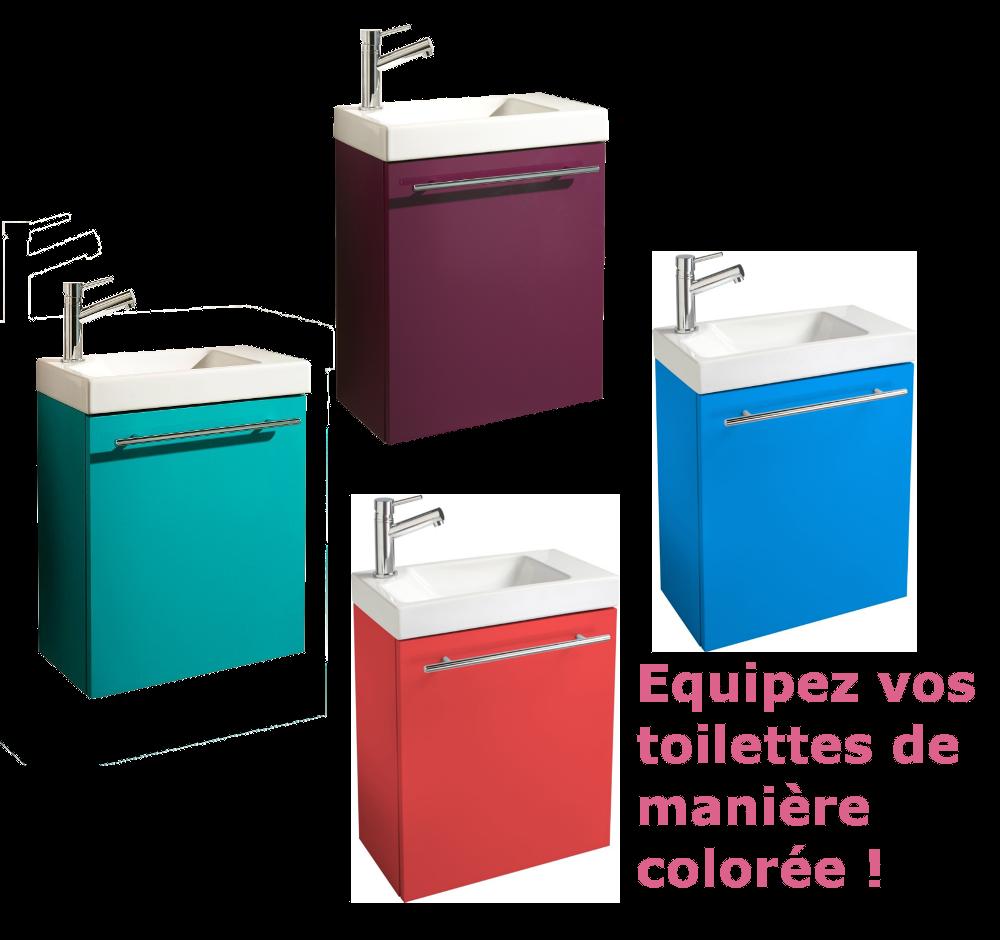 meuble lave mains pour WC