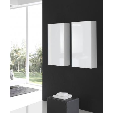 Meubles suspendus salle de bain mobilier suspendre - Colonne salle de bain suspendu ...