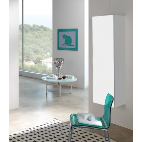 Salle de bain etroite meuble gain de place salle de bain - Meuble salle de bain gain de place ...