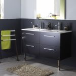 meuble avec double vasque