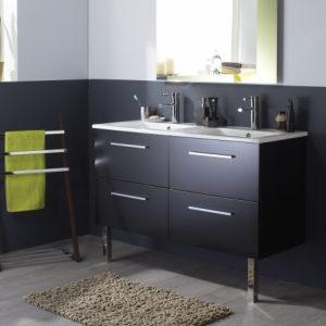 lavabo double vasque pour suite parentale