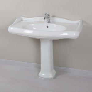 lavabo rétro grande largeur