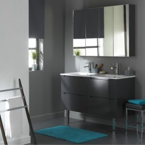 hauteur miroir salle de bain