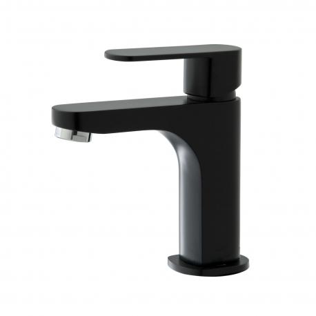 salle de bain noir et blanc achat mobilier salle de bains. Black Bedroom Furniture Sets. Home Design Ideas