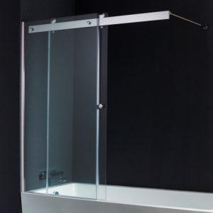 les parois pour créer une baignoire avec douche