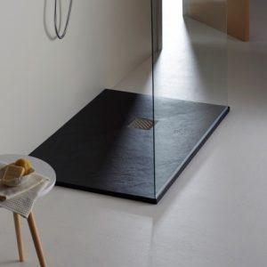 receveur de douche couleur noire
