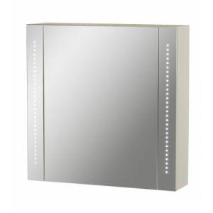 une armoire avec miroir à leds