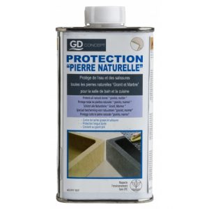 produit de protection pour lavabo en pierre naturelle