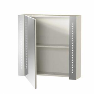 une armoire avec miroir intégré