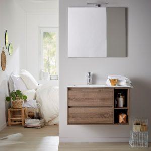 Rendre votre salle de bain tendance avec un décor bois de chez ...