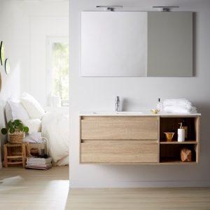 Rendre votre salle de bain tendance avec un décor bois |
